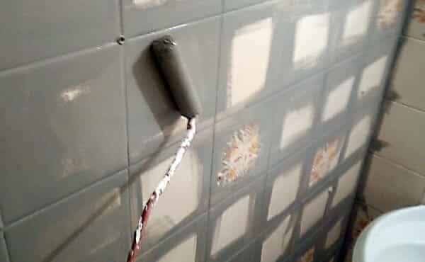 Peinture rénovation carrelage