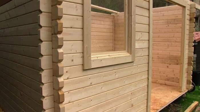construction chalet bois