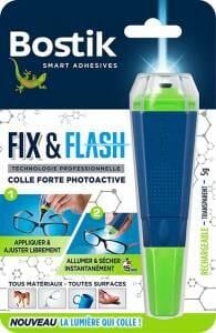 fixandflash colle lumière bleue