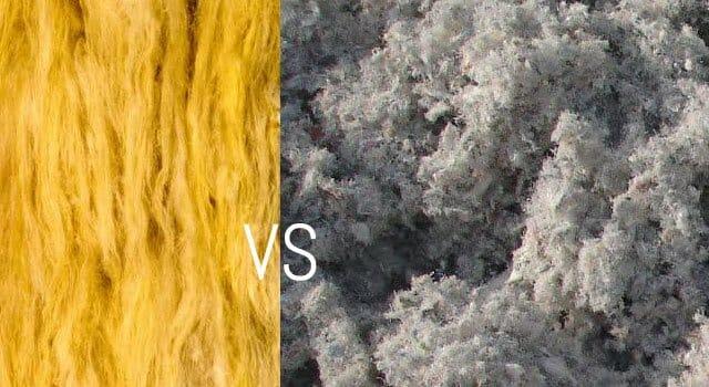 ouate vs laine de verre