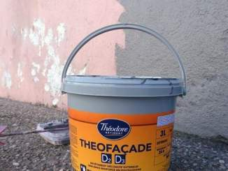 peinture façade théodore