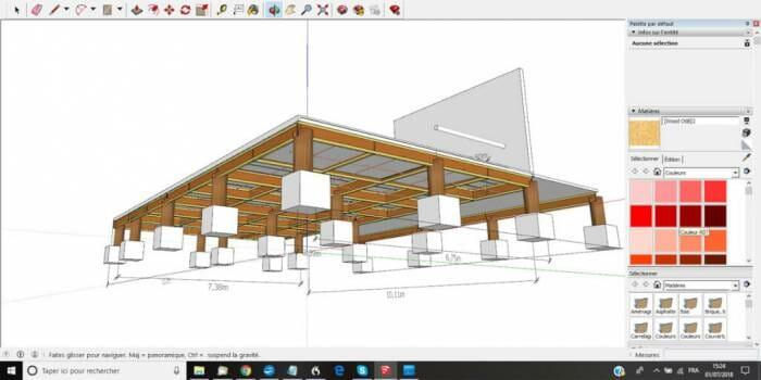 sketchup logiciel 3D