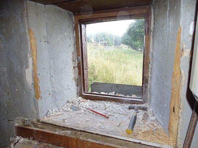 rénover fenêtre ancienne