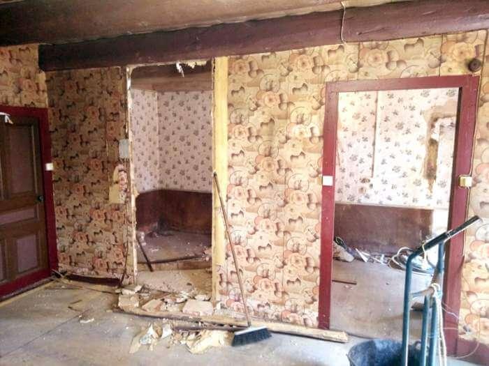 rénovation cloison