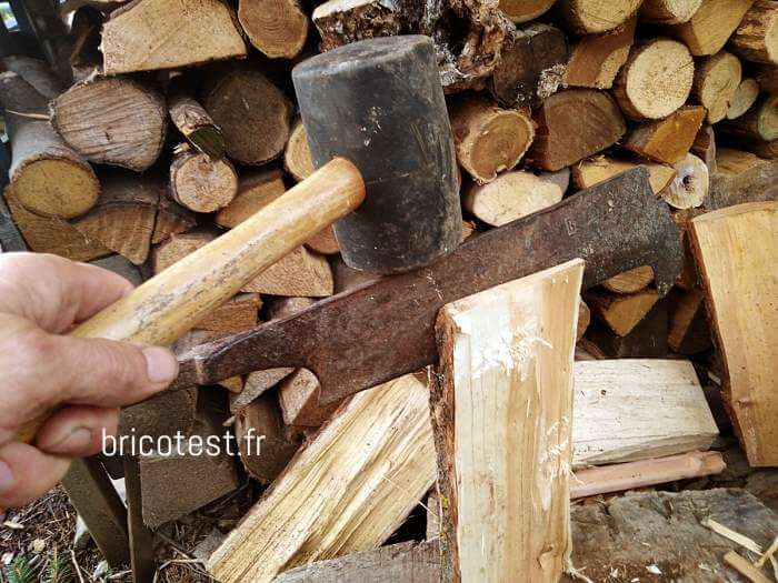 tuile de bois