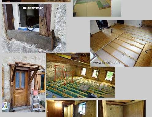 chantier rénovation