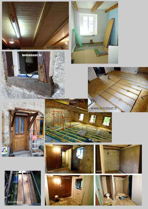 chantier rénovation