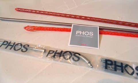 kit barre de douche Phos