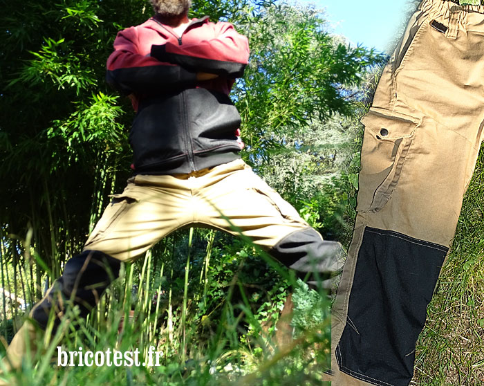 Pantalon travail molinel overmax